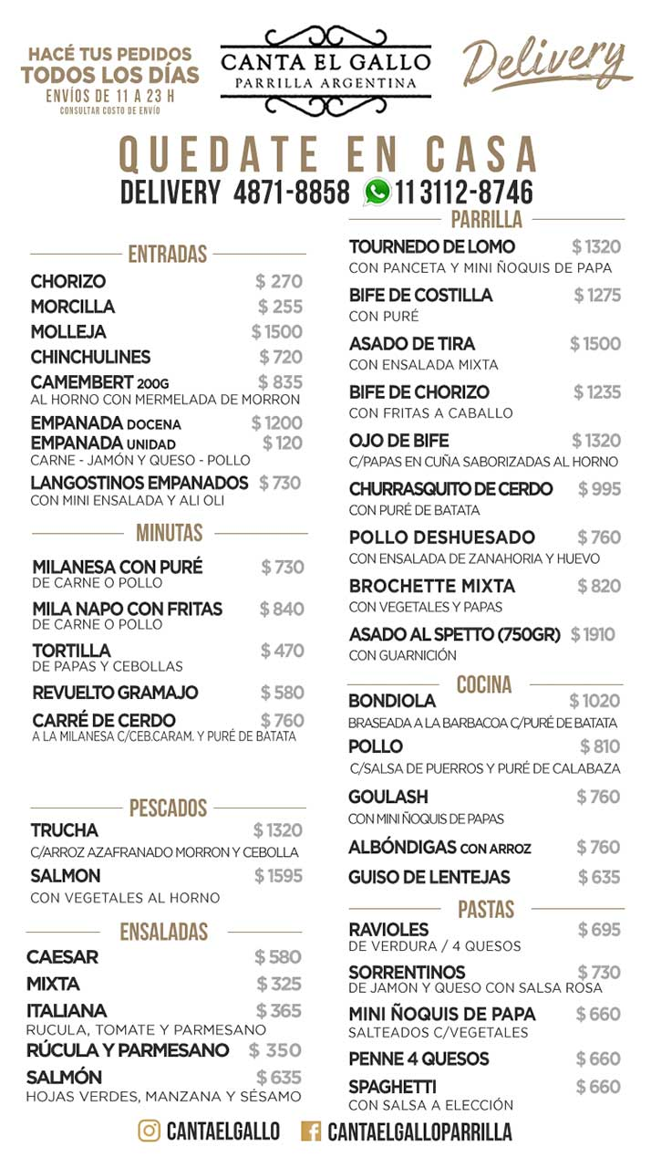 cantaelgallo-delivery-carta-agosto